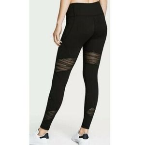 Victoria's Secret Sport Knockout lace mesh legging
